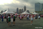 The Expo area of the Race for the Cure.