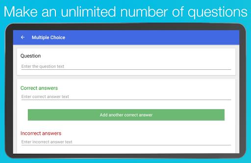 Topgrade Quiz Maker 2.5.4 screenshots 8