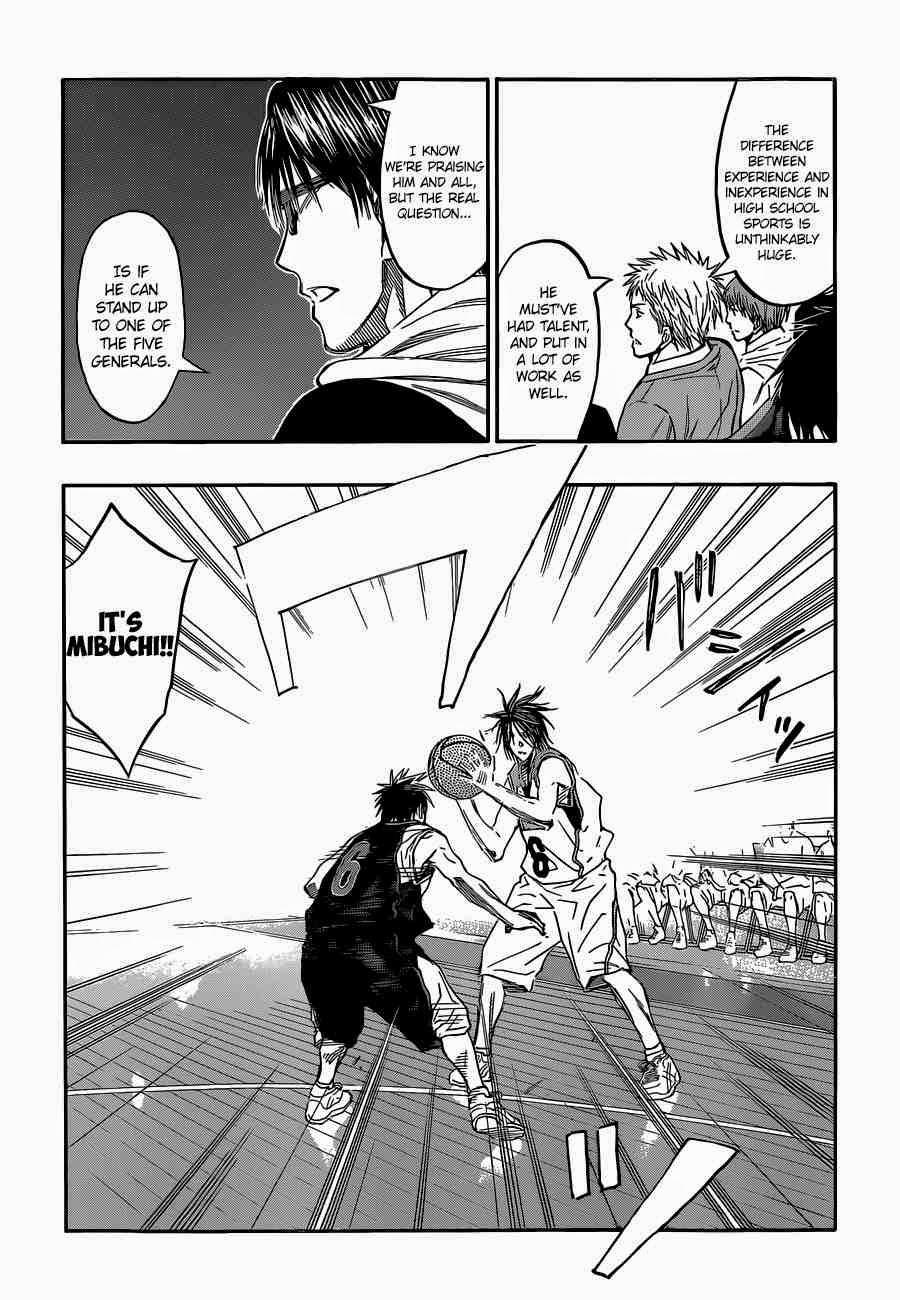 Kuroko no Basket Manga Chapter 256 - Image 07