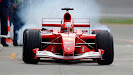 Michael Schumacher Ferrari F2001 Indianapolis