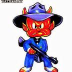 bandit - Devil Tattoos Designs