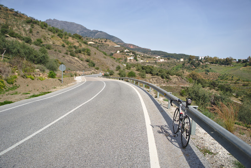 O noua zi, un nou munte, Sierra de las Nieves.