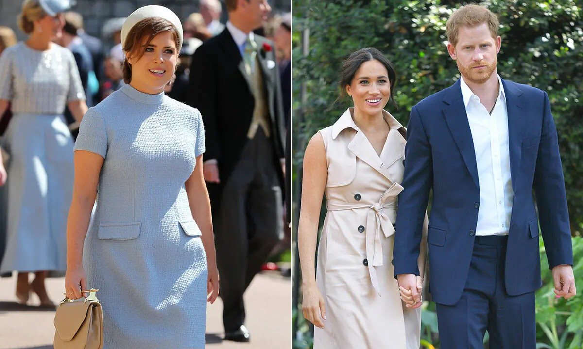 Princess Eugenie congratulates 'Dear Cousins' Meghan Markle and Prince Harry after Birth of Baby Lilibet
