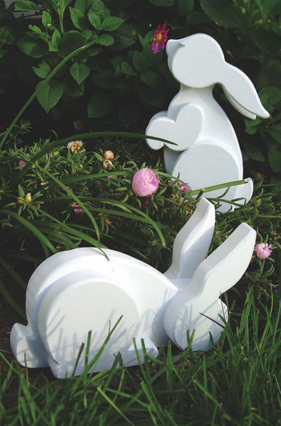 scroll saw bunnies