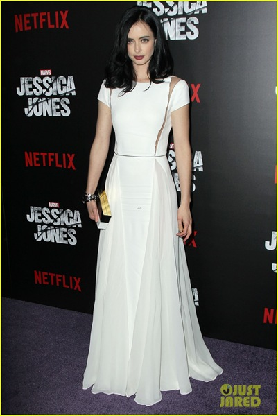 Krysten Ritter attends the Jessica Jones Series Premiere at Regal