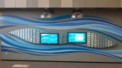 Iona Group: Donor Wall for Peoria Riverfront Museum