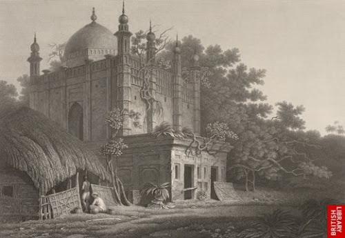 A Mosque at Magbazar, Dhaka. No longer exists today.