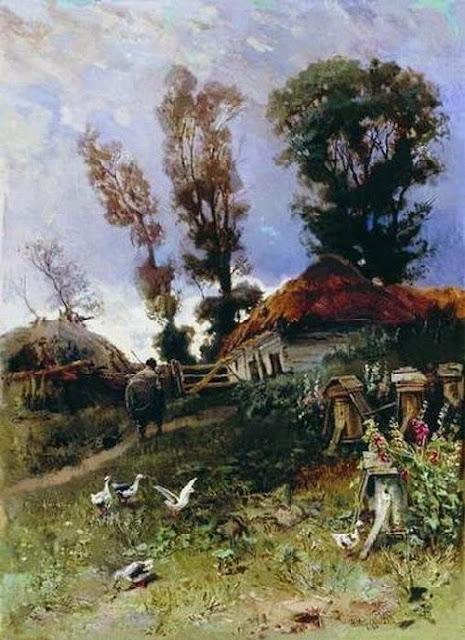 Nikolay Makovsky - Apiary