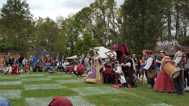 Q is for the queen. From the Ohio Renaissance Festival, A-Z
