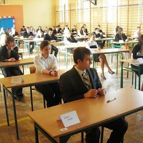 Egzamin gimnazjalny - 12-14 kwietnia 2011