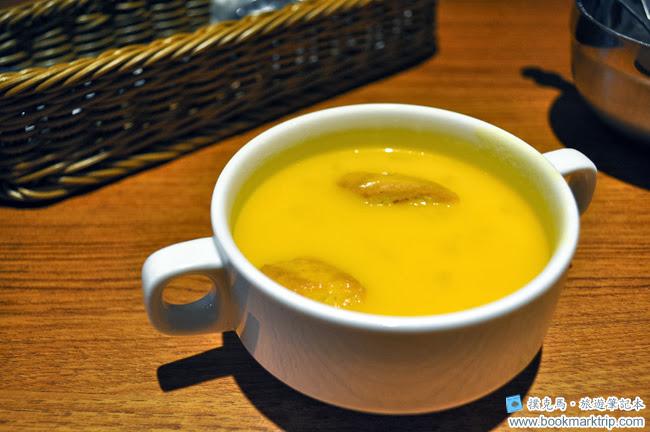 豆子咖啡南瓜濃湯