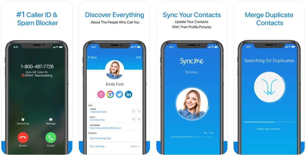 Sync.ME - Caller ID & Contacts