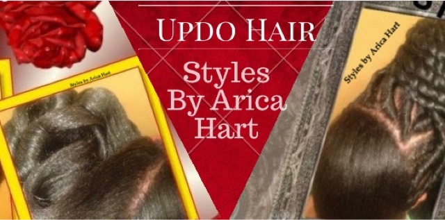 Updo And Stuffed Twist Hair Styles