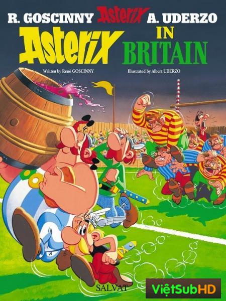 Asterix Phiêu Lưu Ở Anh Quốc