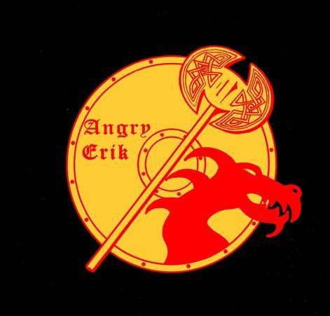 Logo of Angry Erik Leaf Erikson