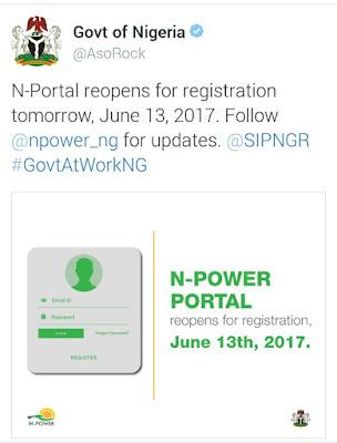 n power portal reopens for 2017 fresh application