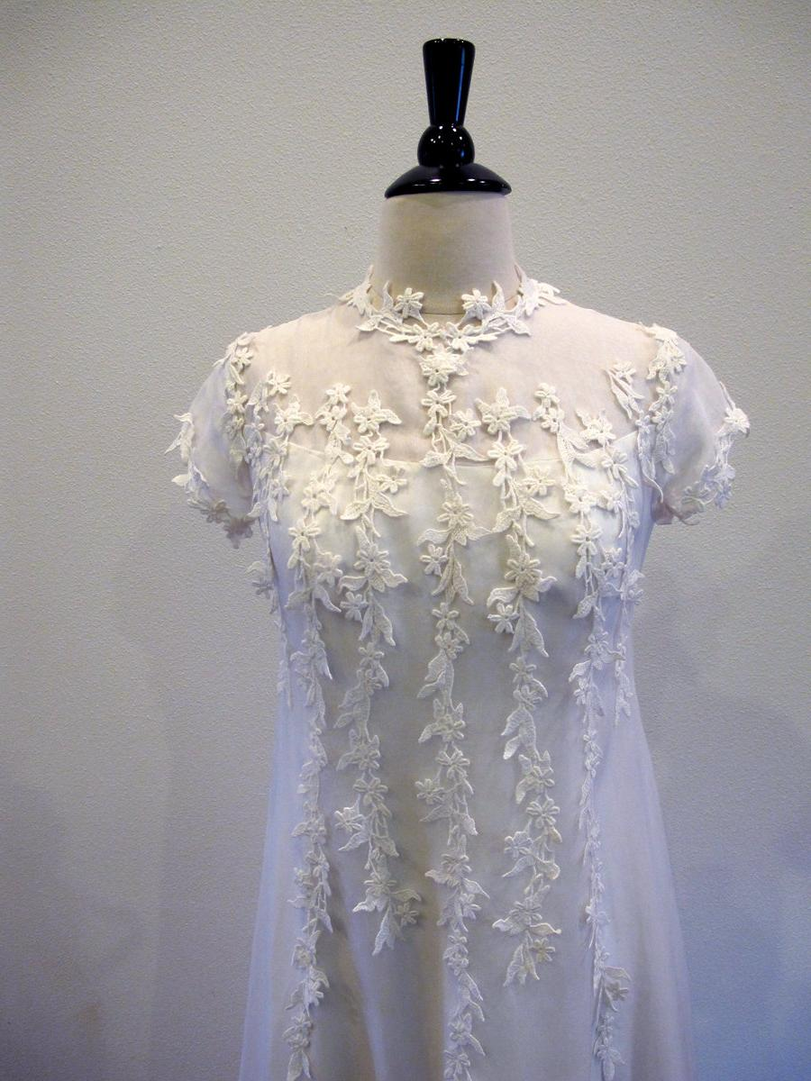 1960s wedding dress   60s