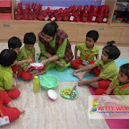 Lemonade Making Activity by Nursery Afternoon Section at Witty World, Chikoowadi (2017-18)