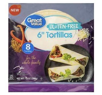 "Gluten Free 6"" Tortillas"