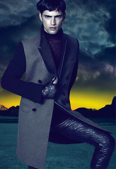 sean O'Pry by Mert & Marus for Versace F/W 2011-12