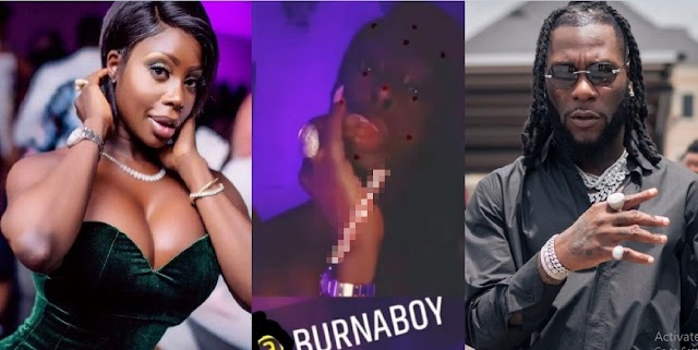 These Are The Girls King Solomon Warned Us Against In Proverbs'- Reactions As US-Stripper, Symba, Sends A Non-Verbal Message To Singer Burna Boy