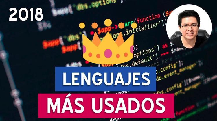 Los lenguajes de programación más usados en 2018