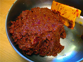 Photo: chilli paste for stewed chicken