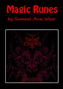 Cover of Samael Aun Weor's Book Magic Runes