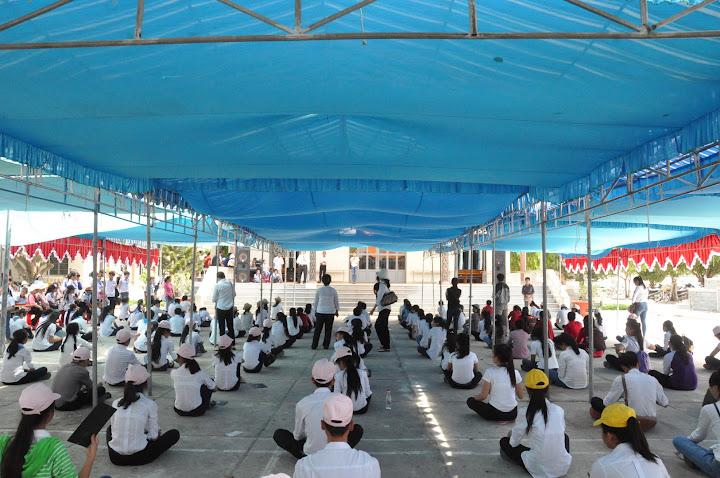 Hình ảnh sinh hoạt giao lưu Junior của hai Giáo hạt Cam Lâm và Cam Ranh tại giáo xứ Phú Phong.