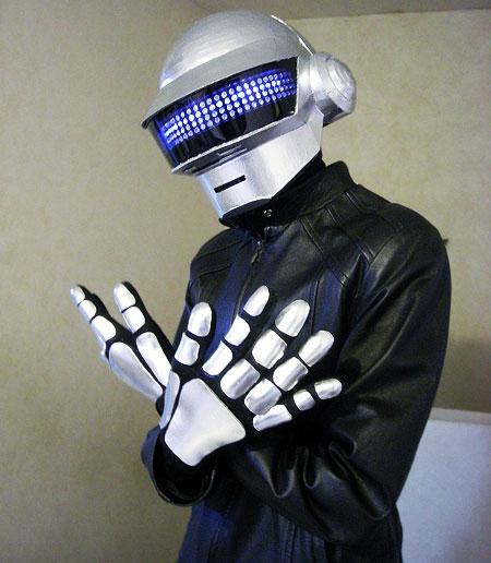 Daft Punk Papercraft Thomas Helmet