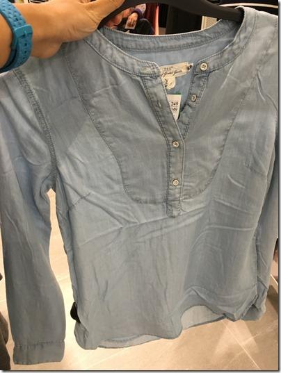 LOGG by H&M chambray shirt