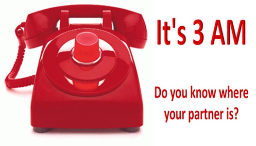 LI - 3am Red Phone - Do you know where your partner is