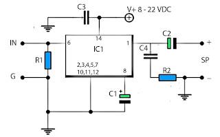 LM380 schematic