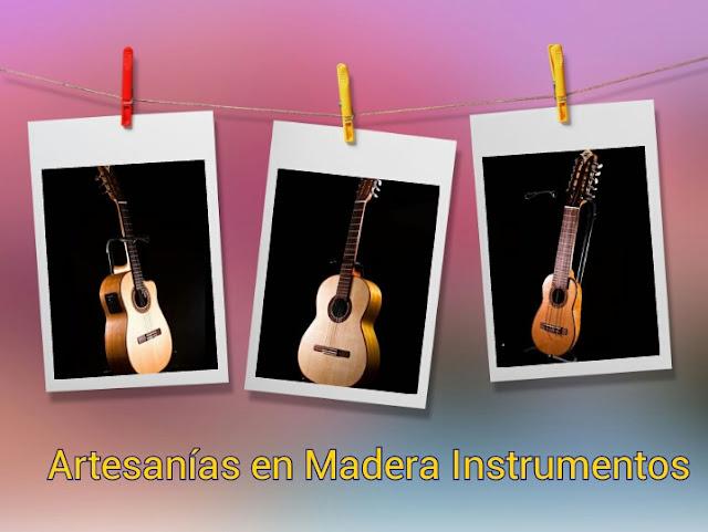 Guitarras e instrumentos musicales ecuatorianos