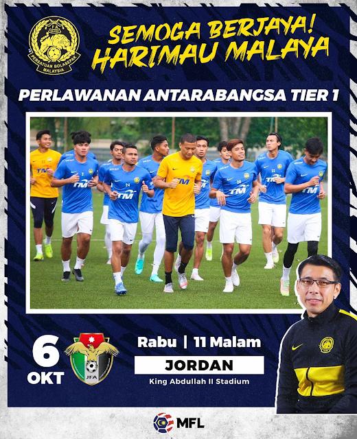 Live Streaming Malaysia vs Jordan 6.10.2021