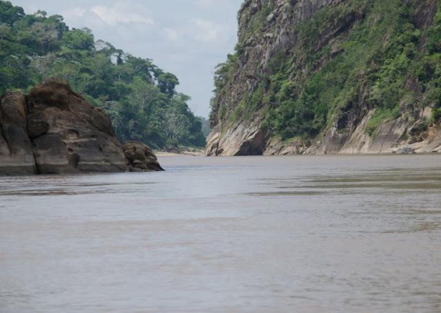 Garganta del Diablo : le Rio Beni dans la gorge du Bala (Beni, Bolivie), 27 octobre 2012. Photo : C. Basset
