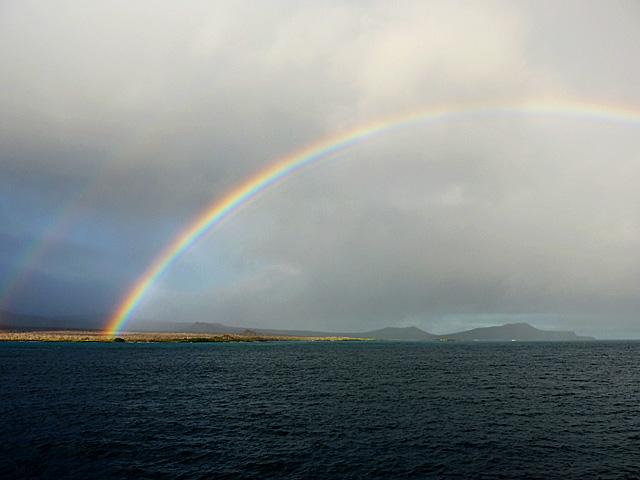 Rainbow in Galapagos
