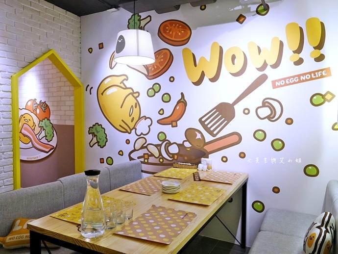 18 Gudetama Chef 蛋黃哥五星主廚餐廳 台北東區美食
