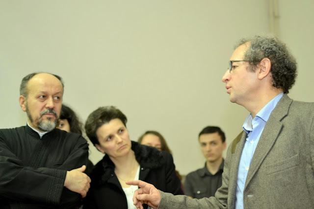 Conferinta Despre martiri cu Dan Puric, FTOUB 212