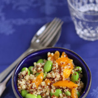 Quinoa & Bulgur Bowls With Edamame And Peppers