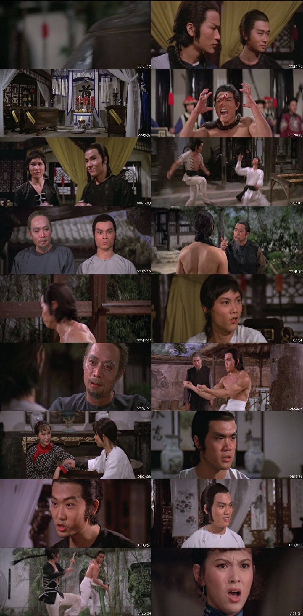 Screen Shot Of Invincible Shaolin 1978 300MB Full Movie Hindi Dubbed Free Download 720P BRRip HEVC