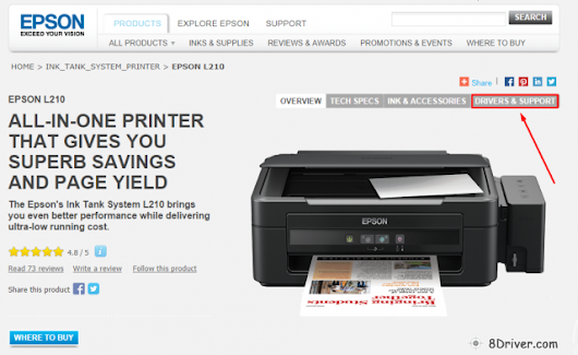 Download Epson L355 printer driver & Install guide