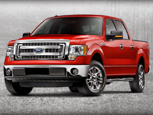 2014 ford truck colors