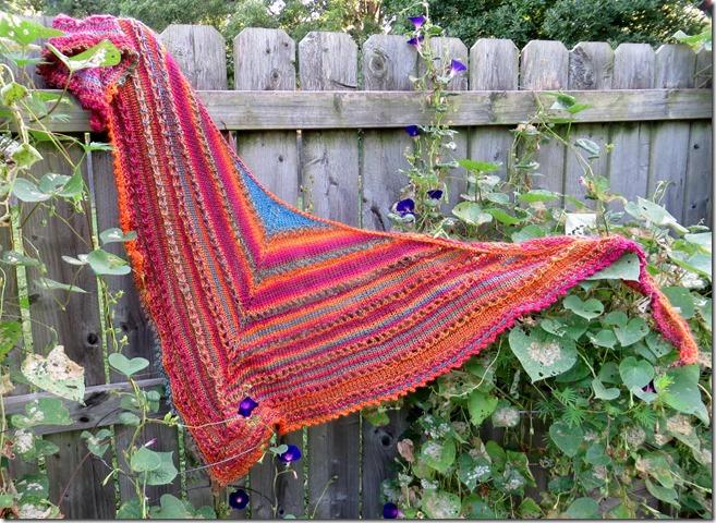 Lafayette Shawl, Free Knitting Pattern link, Lace Shawl