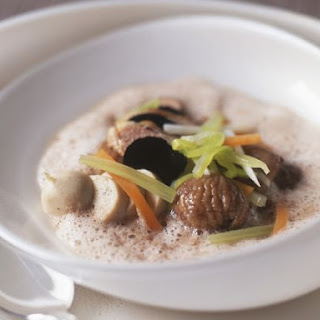 Chestnut Soup with Truffles