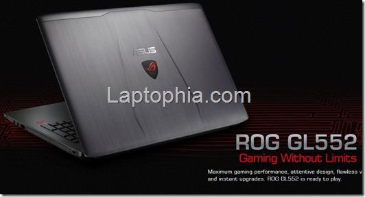 Harga Spesifikasi Asus ROG GL552VX-DM018D