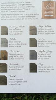 De kleurenlijst van de Autentico Wax Oils