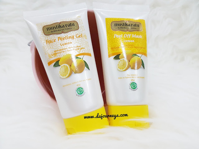 [Review] Mustika Ratu Face Peeling Gel dan Peel Off Mask Lemon