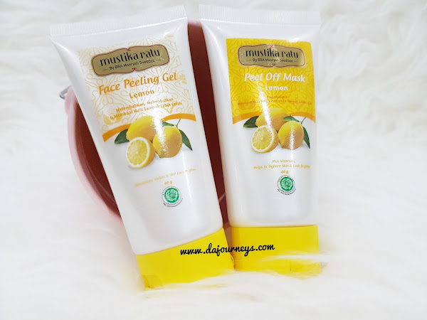 [Review] Mustika Ratu Face Peeling Gel dan Peel Off Mask: Lemon dan Green Tea