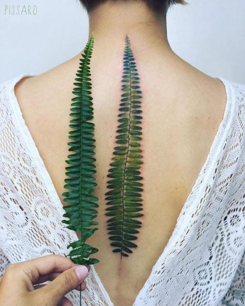 este_lindo_verde_samambaia_folha_de_tatuagem